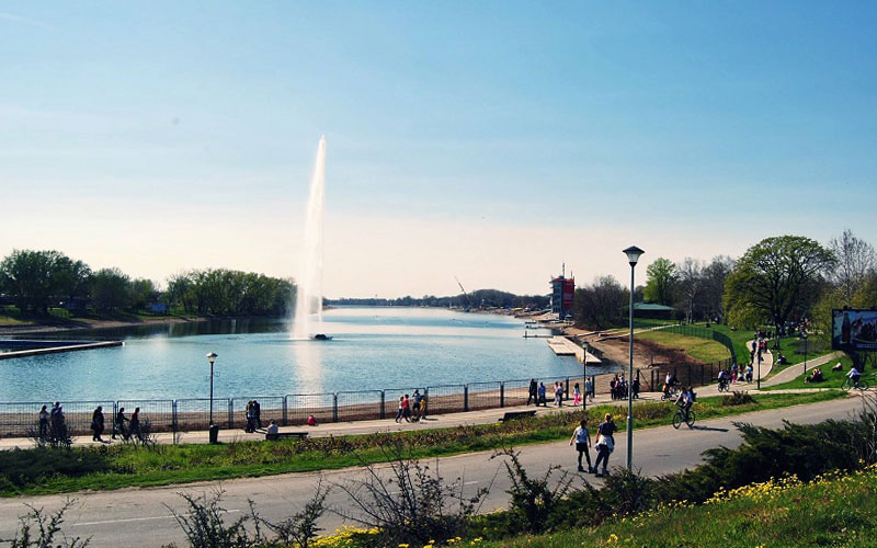Ada Ciganlija - paradise for sport activities and recreation