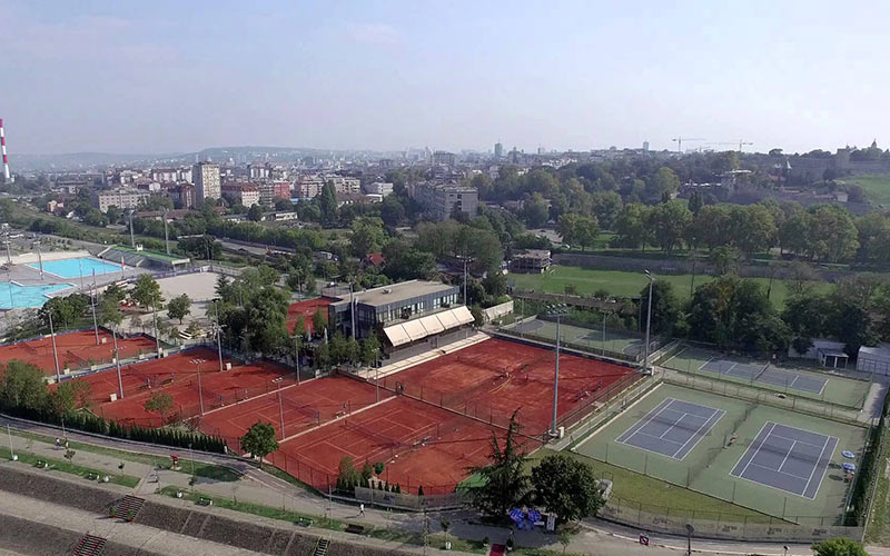 """Novak Đoković"" tennis center"
