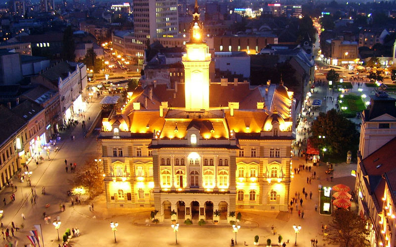 Novi Sad by night