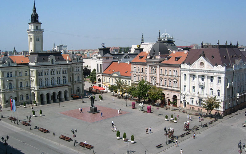 Novi Sad main square