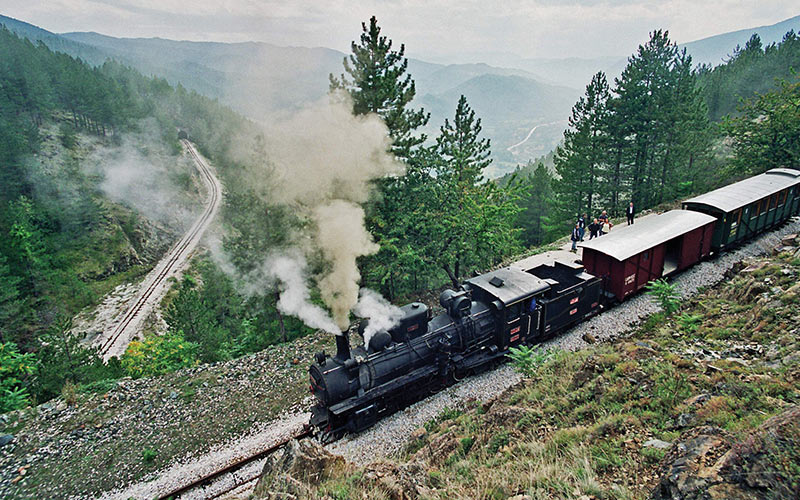"Šarganska osmica - train ""Ćira"""